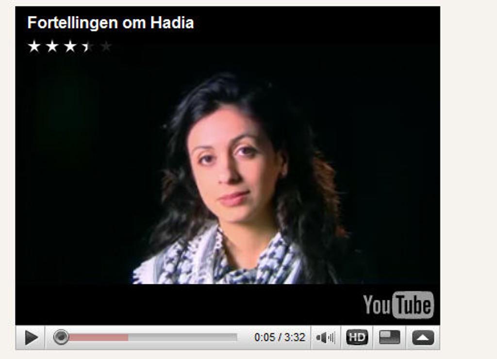 Blir hyppig brukt i valgkampen. Her Arbeiderpartiets Hadia Tajik.