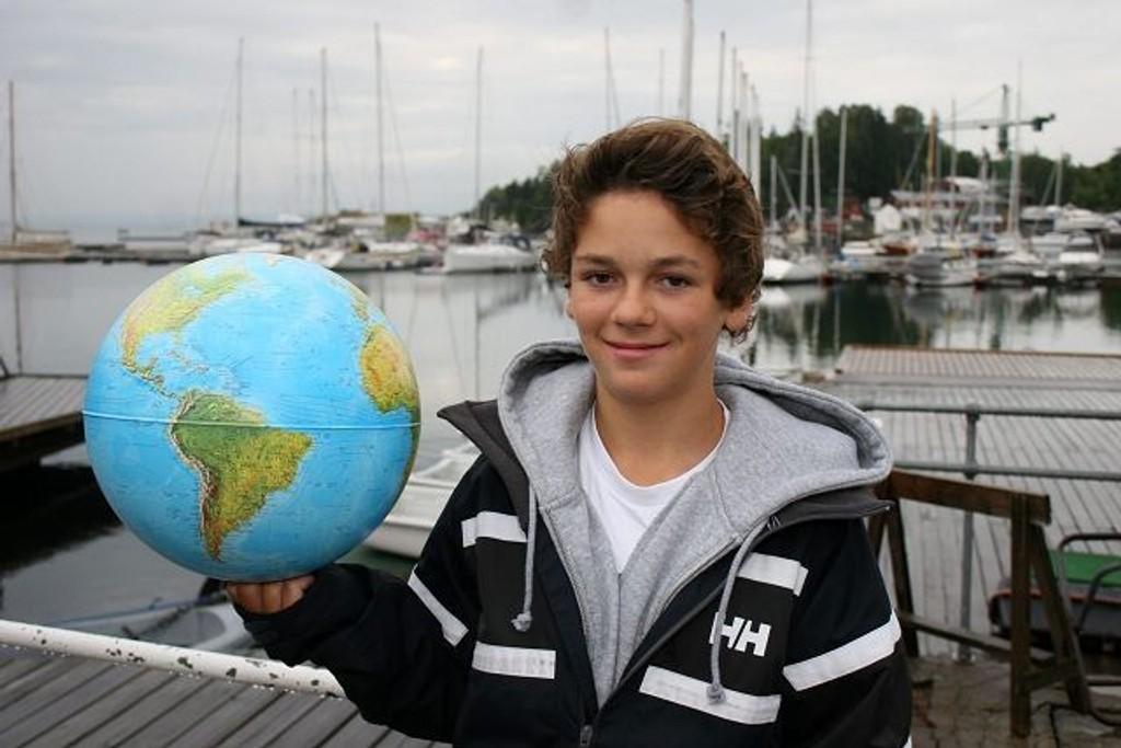 Reiser mye: Hartvig Johannson har allerede seilt i syv forskjellige land.