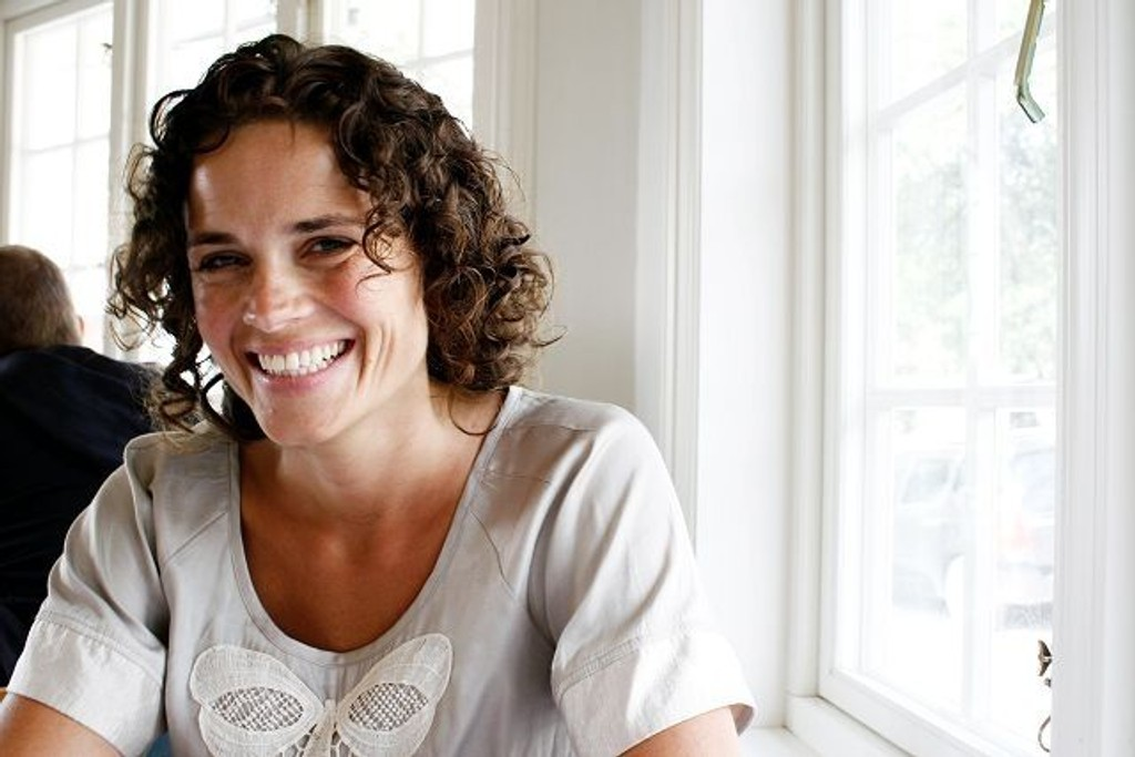 Interiørarkitekt Taran Grønlie driver firmaet Raffinert Interiør i Bekkelagsveien. Hun har også en bakgrunn som teaterregissør og PR-ansvarlig.