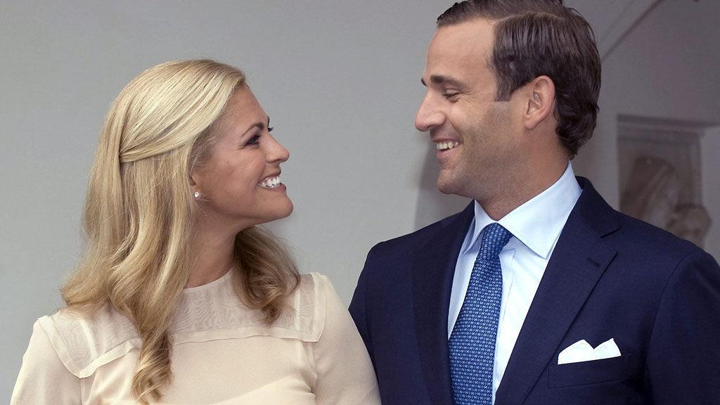 FORELSKET: Madeleine og Jonas er ikke i tvil - det sa klikk da de så på hverandre første gang.