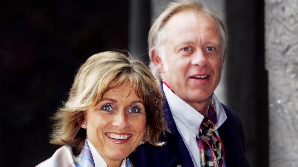 GIFT: Hilde Hummelvoll og Petter Nome giftet seg i Heggedal kirke i Asker i helgen. Dette bildet ble tatt i 2006.