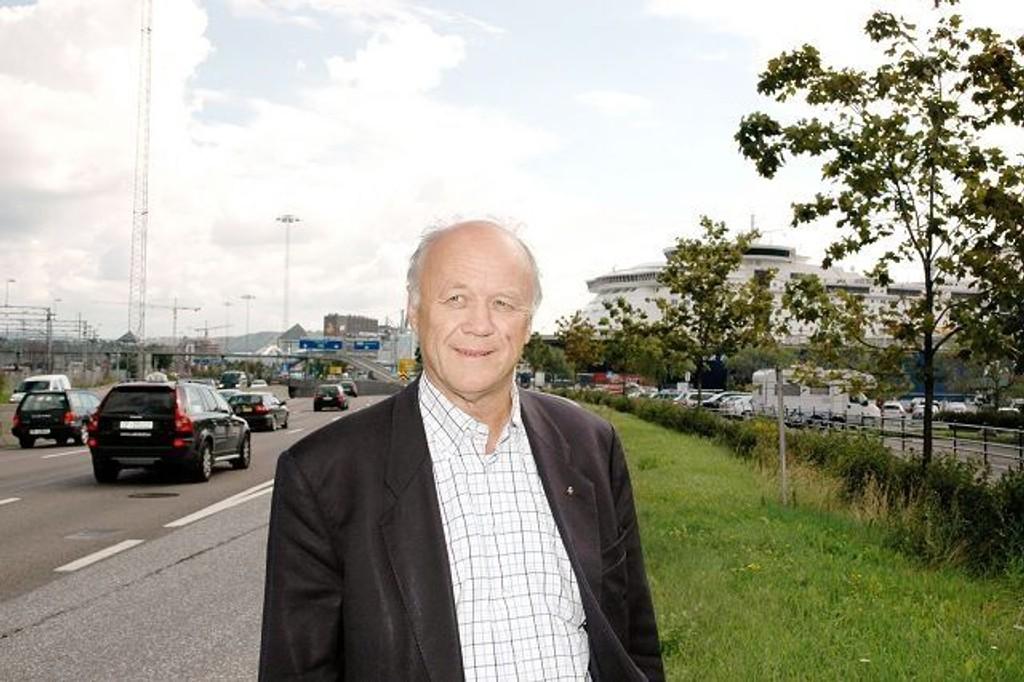 BU-leder i Bydel Frogner, Bjarne Ødegaard. ARKIVFOTO