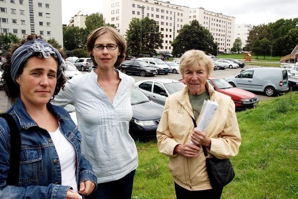 Kaja Irgens , Siri Haavie og Inger Schrøder. Foto: Huck