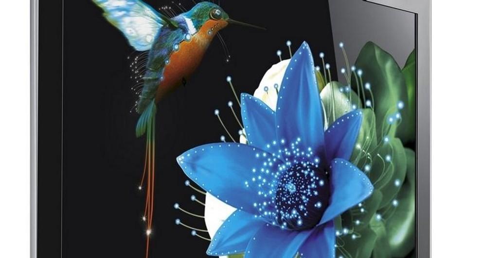 GUIDE: LED LCD er bedre enn de tradisjonelle LCD-skjermene på flere områder. BIldet viser Samsung LED 8050.