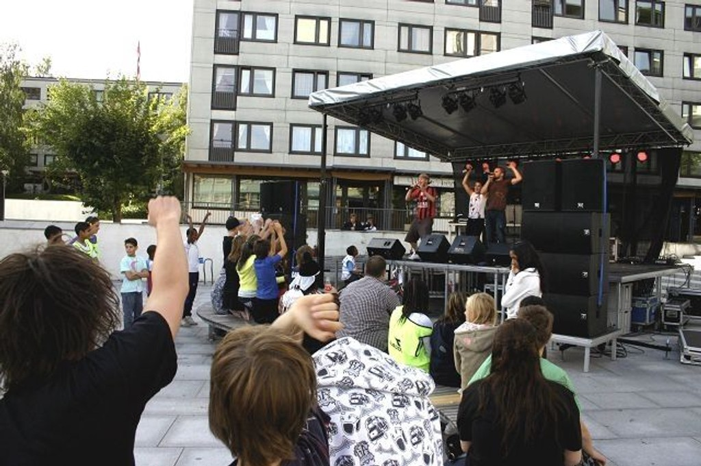 Dette bildet er fra fjorårets musikkfest på Hovseter. FOTO: ARKIV