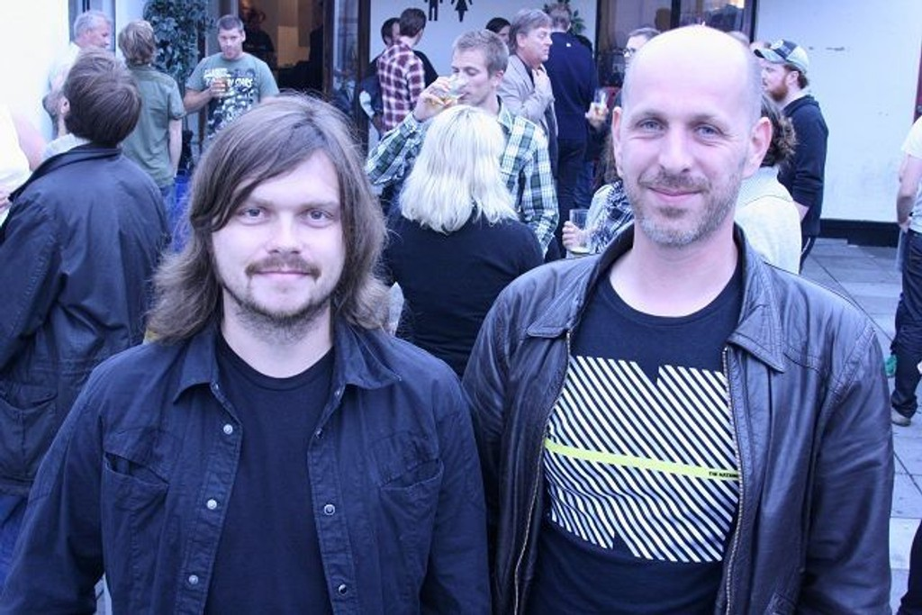 Rockehøst: Rune Løkken og Bo Hustoft lover en variert og spennende høst. Foto: Steinar Knudsen