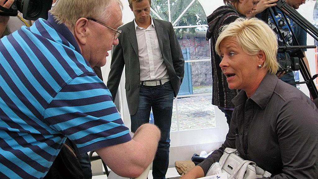 Ola Ødegaard og Siv Jensen