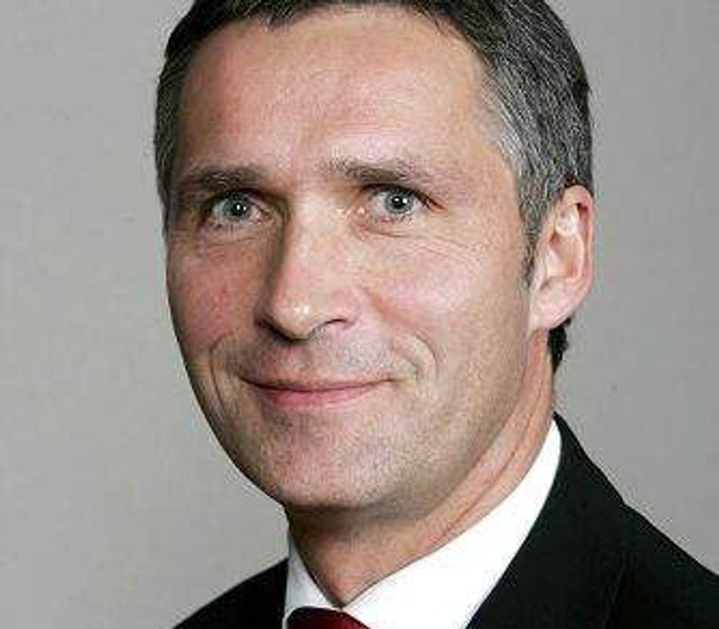 Statsminister Jens Stoltenberg (Ap).