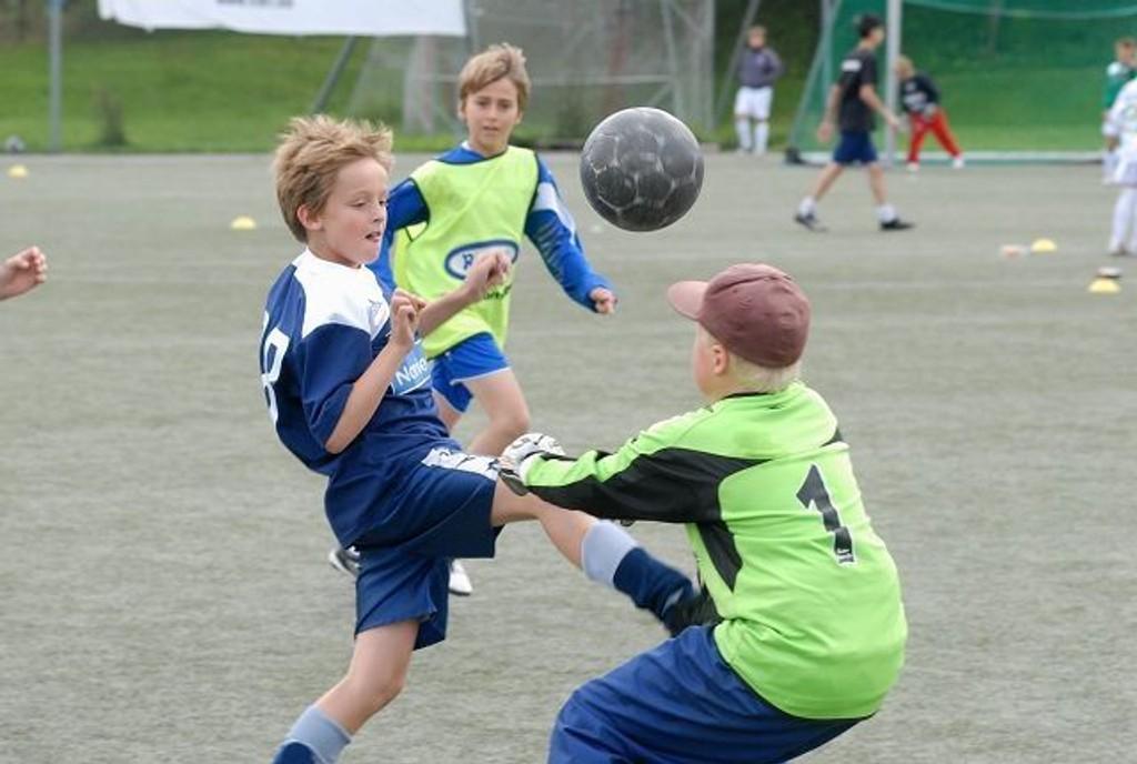 Magnus Ramm var sulten på mål i Ready Cup i helgen.