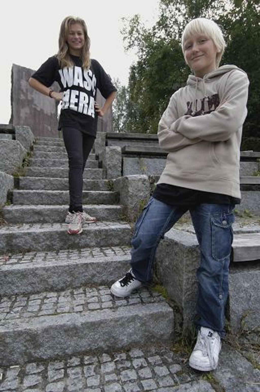 Siri Ørbeck og Jacob Hågensen er klare for nye utfordringer. FOTO. ELISABETH C. WANG