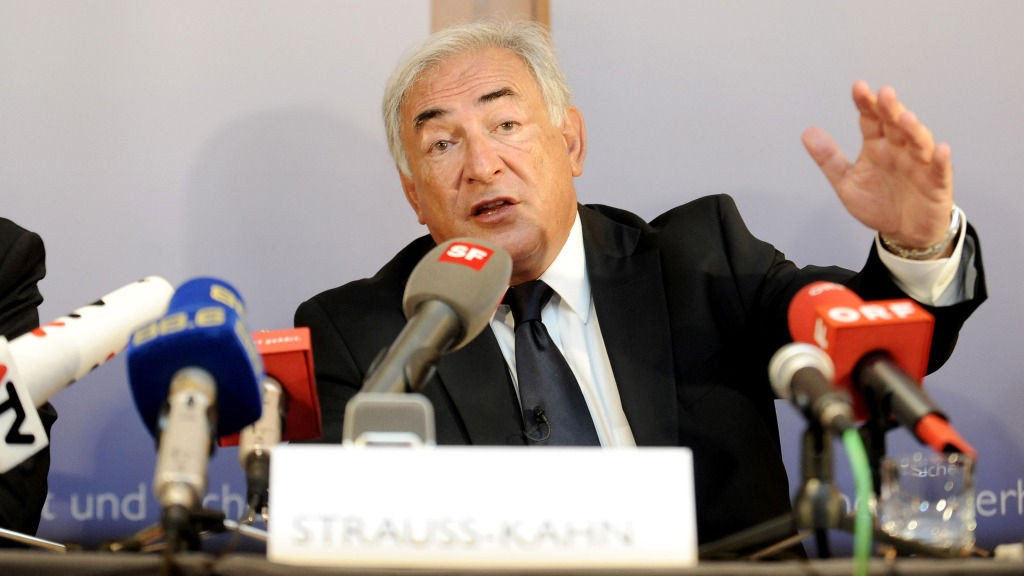 Dominique Strauss-Kahn, sjef for IMF