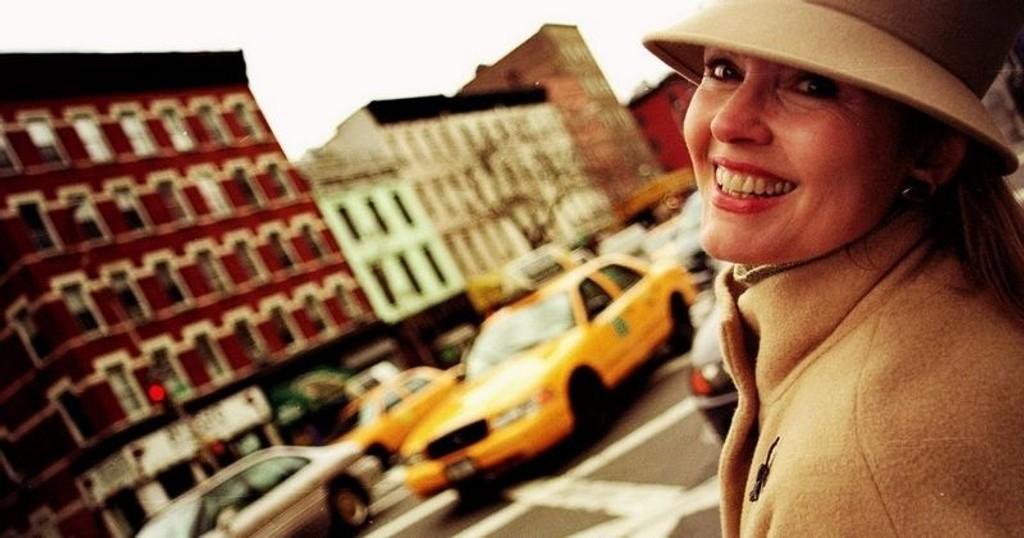 VETERAN: Den norske modellen Inger Lønmo valgte kjøkkeninngangen til New York for 18 år siden.
