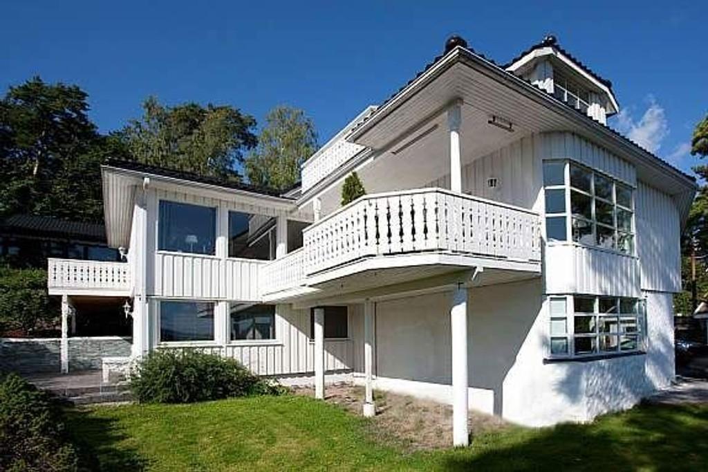 Huset på Bestum har et bruksaeral på over 300 kvadratmeter. Foto: Eie