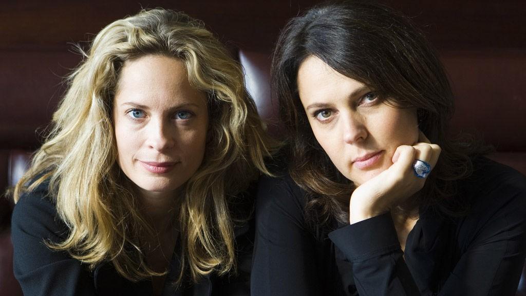 TØFFE DAMER: Maria Bonnevie og Margreth Olin laget film med kropp, sjel, hjerte og alt det andre som krevdes for «Engelen».