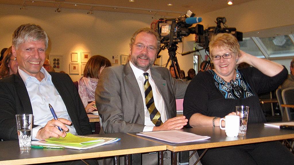 Ola Elvestuen, Lars sponheim og Rine Skei Grande