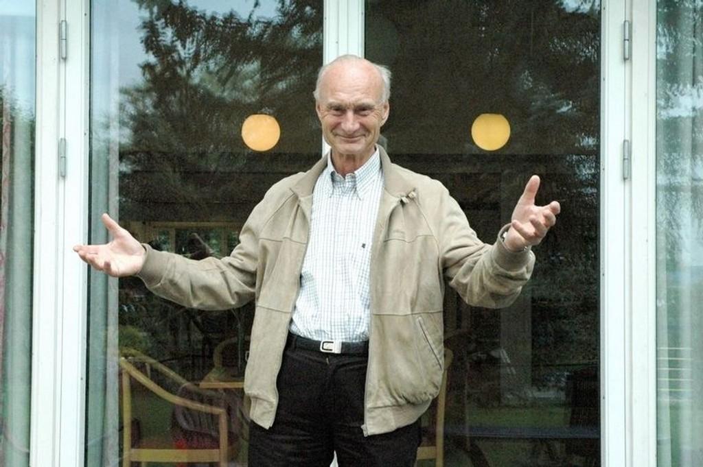 Leder av seniorsakens lokalforening på Ullern, Ernst Hansen-Tangen, vil sikre bydelens beboere bedre tjenester.