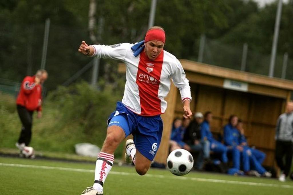 Stian Sortevik tegnet seg på scoringslista for KFUM mot Vålerenga 2. ARKIVFOTO