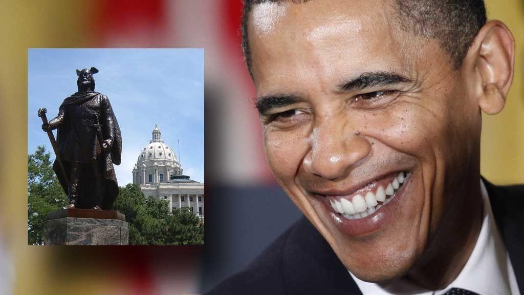 Barack Obama og viking
