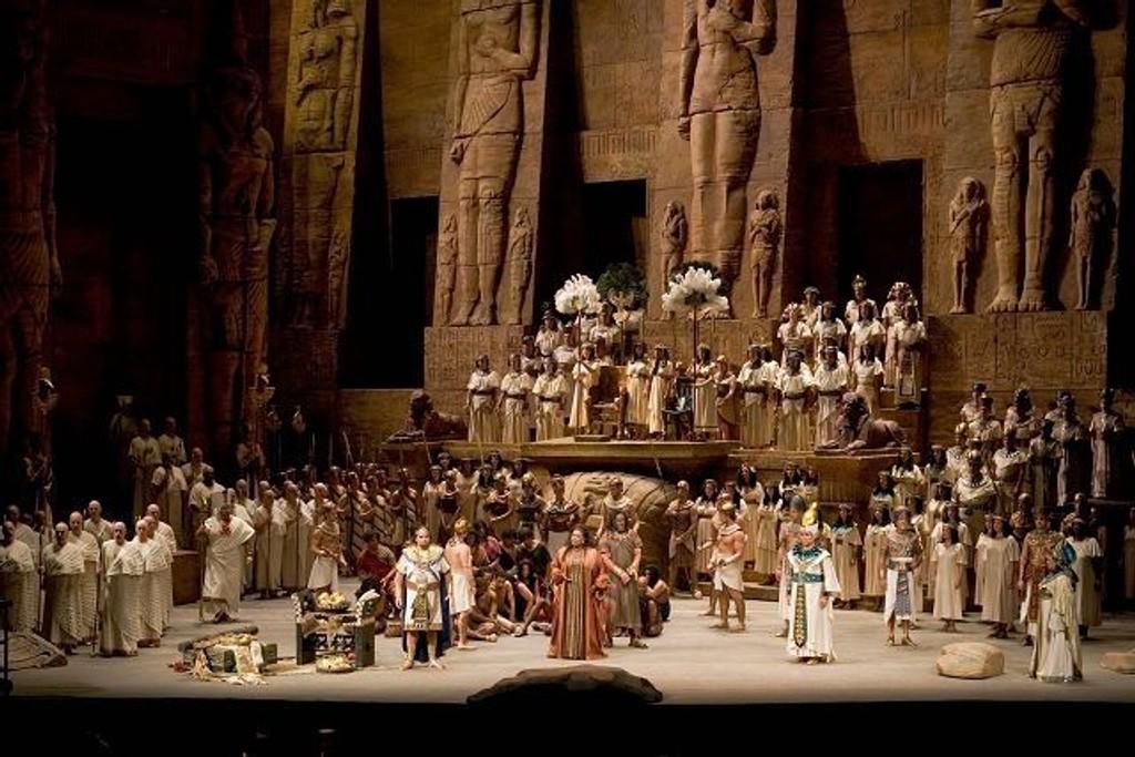 «Aida» direkteoverføres til Ringen kinos filmlerret 24. oktober. FOTO: THE METROPOLITAN OPERA