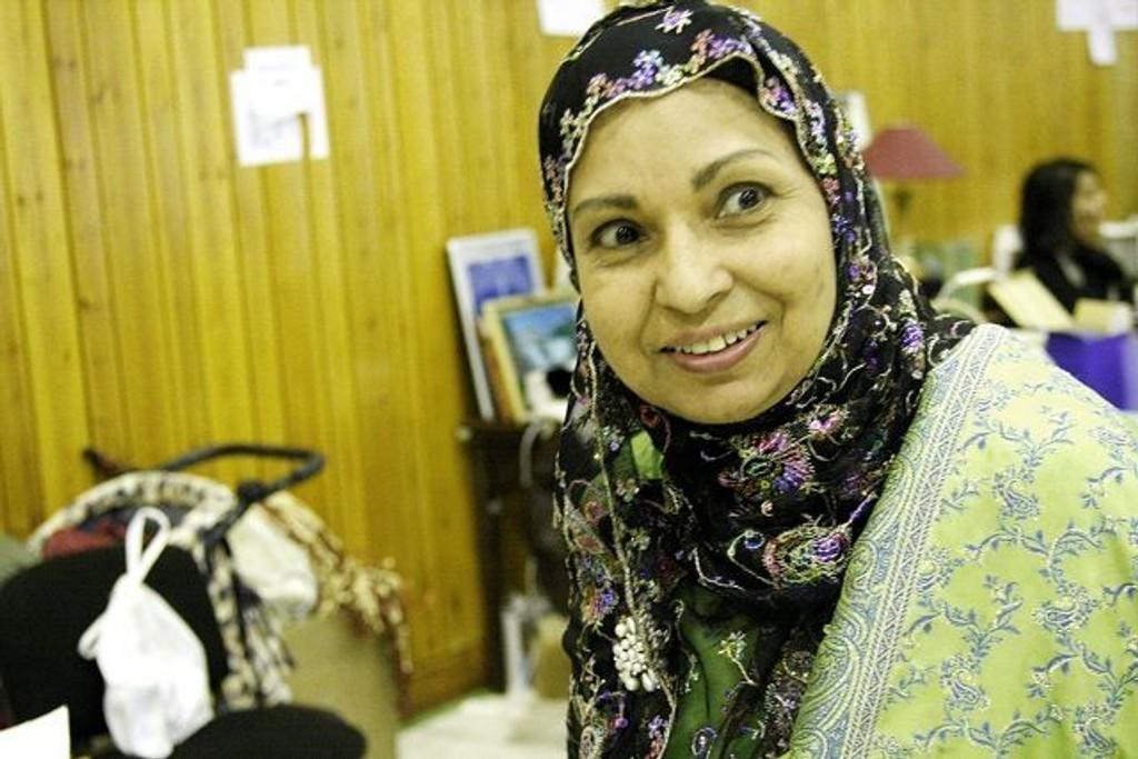 Naima Farooqi er sterkt engasjert i arbeidet med integrering og kultur.