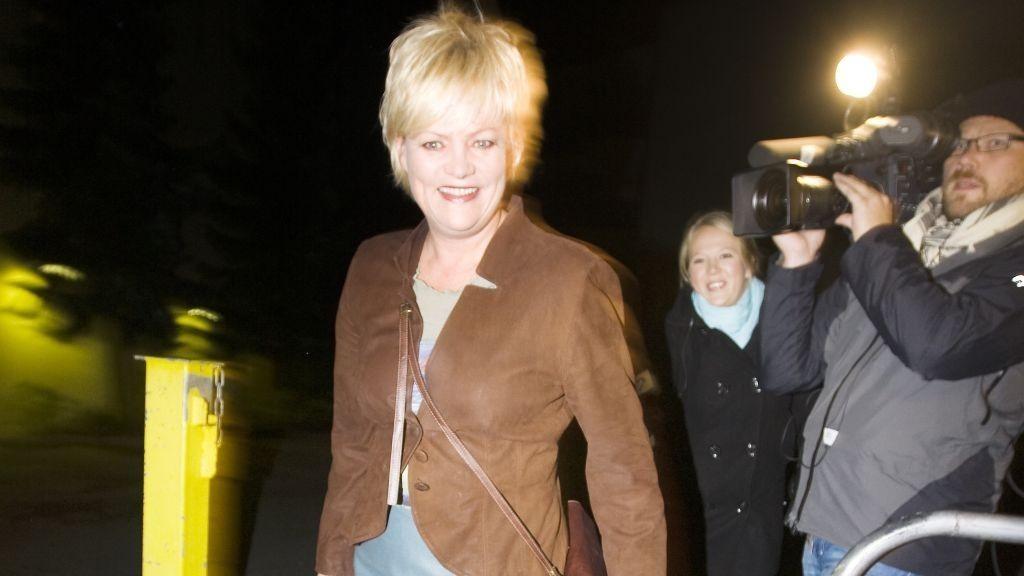 SV-leder Finansminister Kristin Halvorsen Statsbudsjett