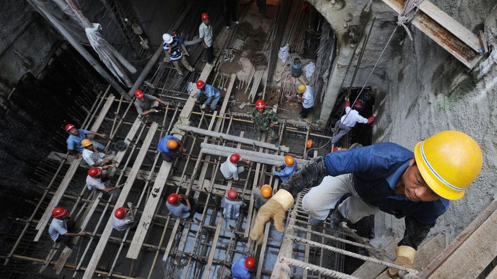 Kina, arbeidere, kinesiske arbeidere, industri, økonomisk vekst