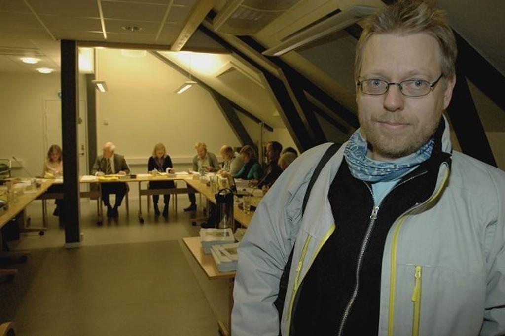 Roar Valderhaug og Ullevål FAU er glade for støtten fra lokalpolitikerne. Foto: Karl Andreas Kjelstrup