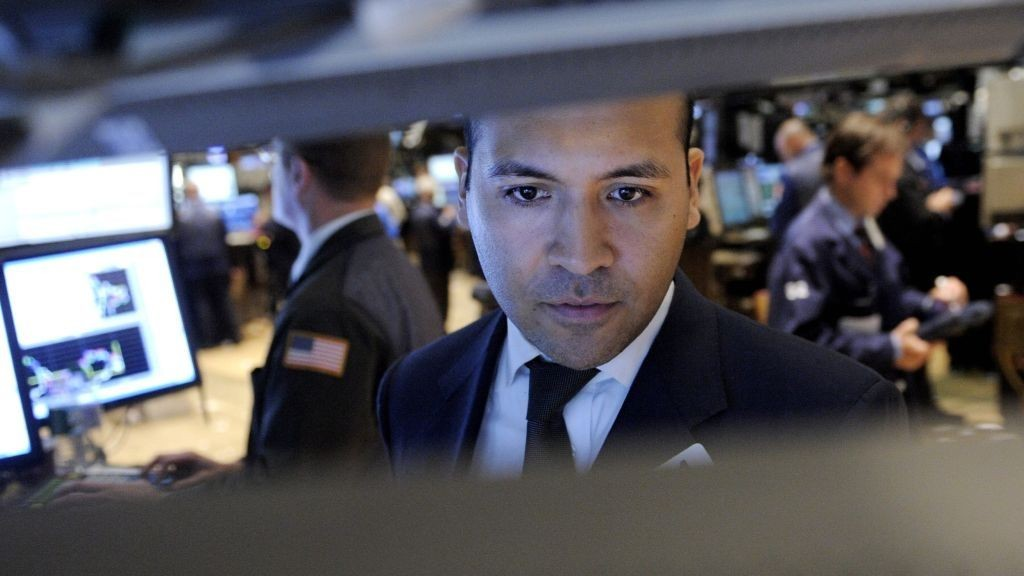Wall Street Megler Trader Aksjer Xbørs