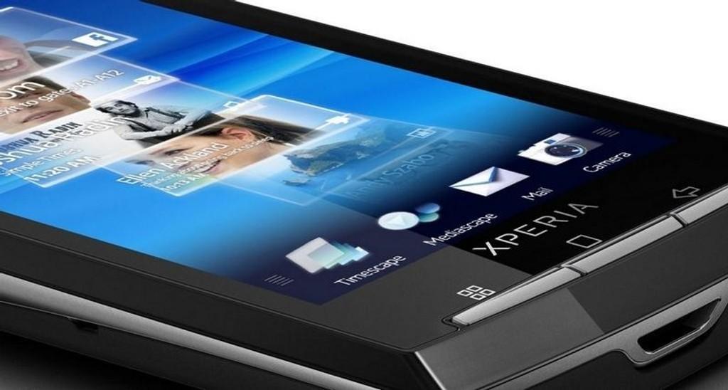 HEFTIG: Vi har prøvd Sony Ericssons første Android-telefon
