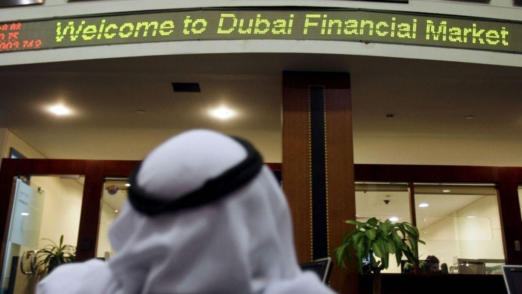 Dubai-børs, gjeldskrise