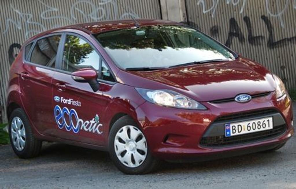 FIESTA: Morsom småbil og klassens beste å kjøre.