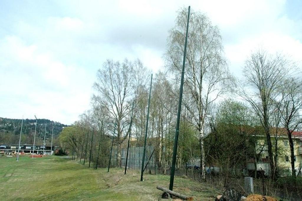 Pål E. Torkildsen mener at et kunstisanlegg ikke hører hjemme langs den verneverdige Ankerveien og i nærheten av andre verneverdige kulturminner. Foto: Vidar Bakken