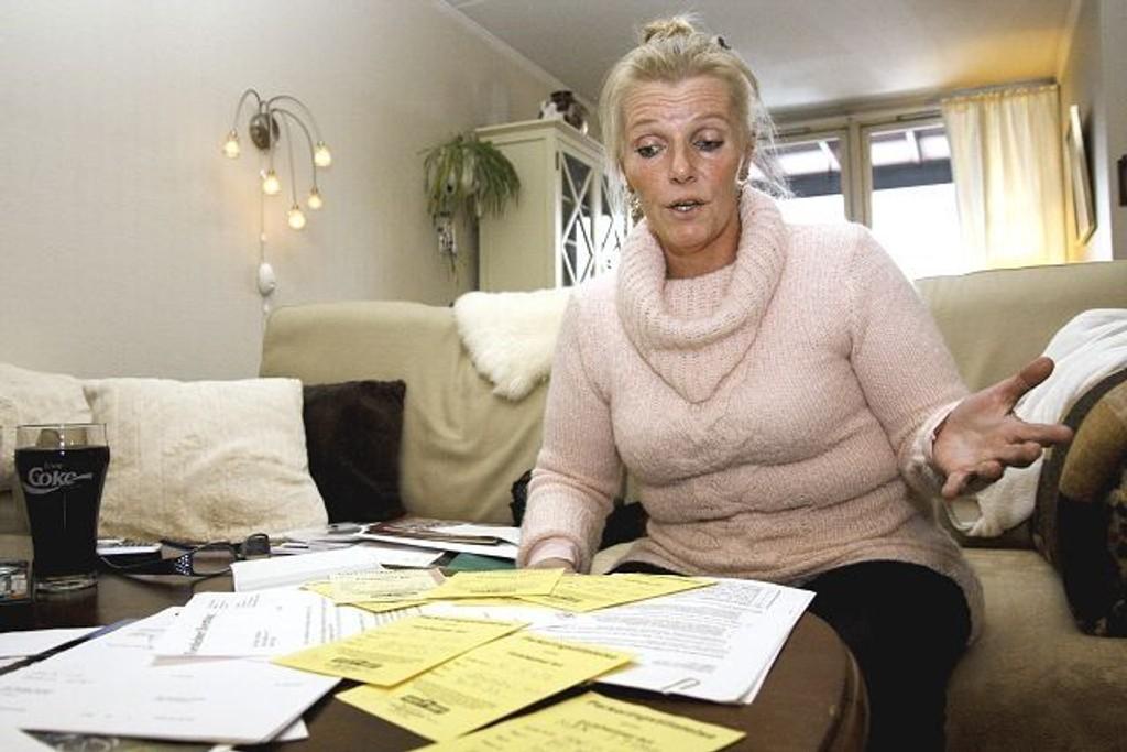 Gro Adolfsen ser seg nødt til å flytte dersom lagmannsretten ikke gir henne medhold i parkeringskonflikten med Forsheimer borettslag. Foto: Anita L. Hanken.