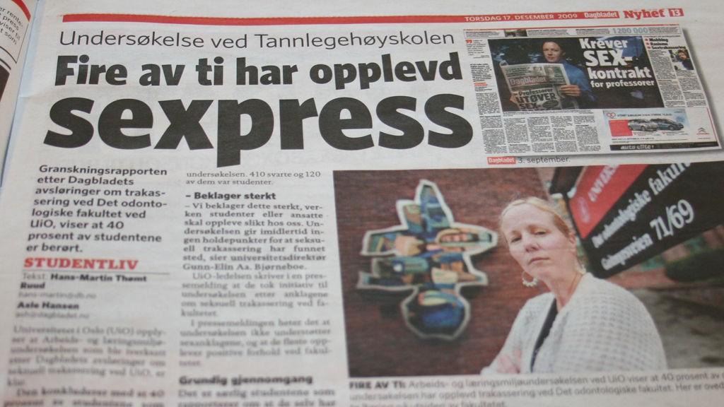 Fra Dagbladet 17/12-2009