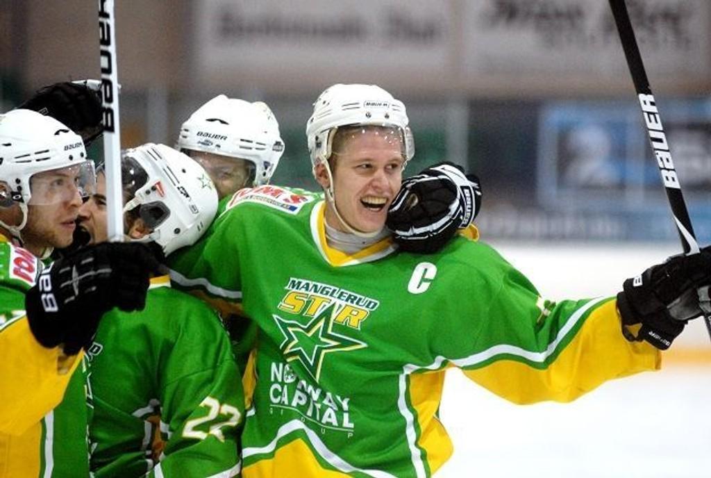 MS-kaptein Martin Hansen har hatt mye å juble for sammen med lagkameratene i år.
