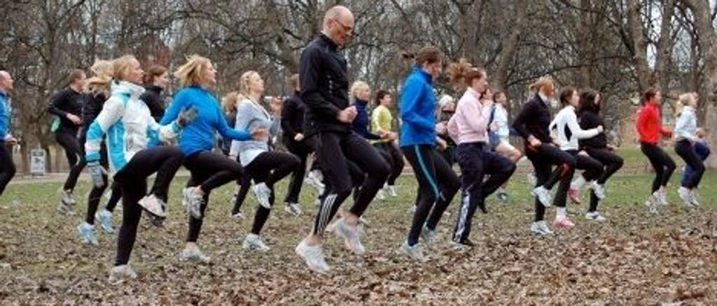 Alle vil starte med blanke ark og nye løfter om mye trening i januar.