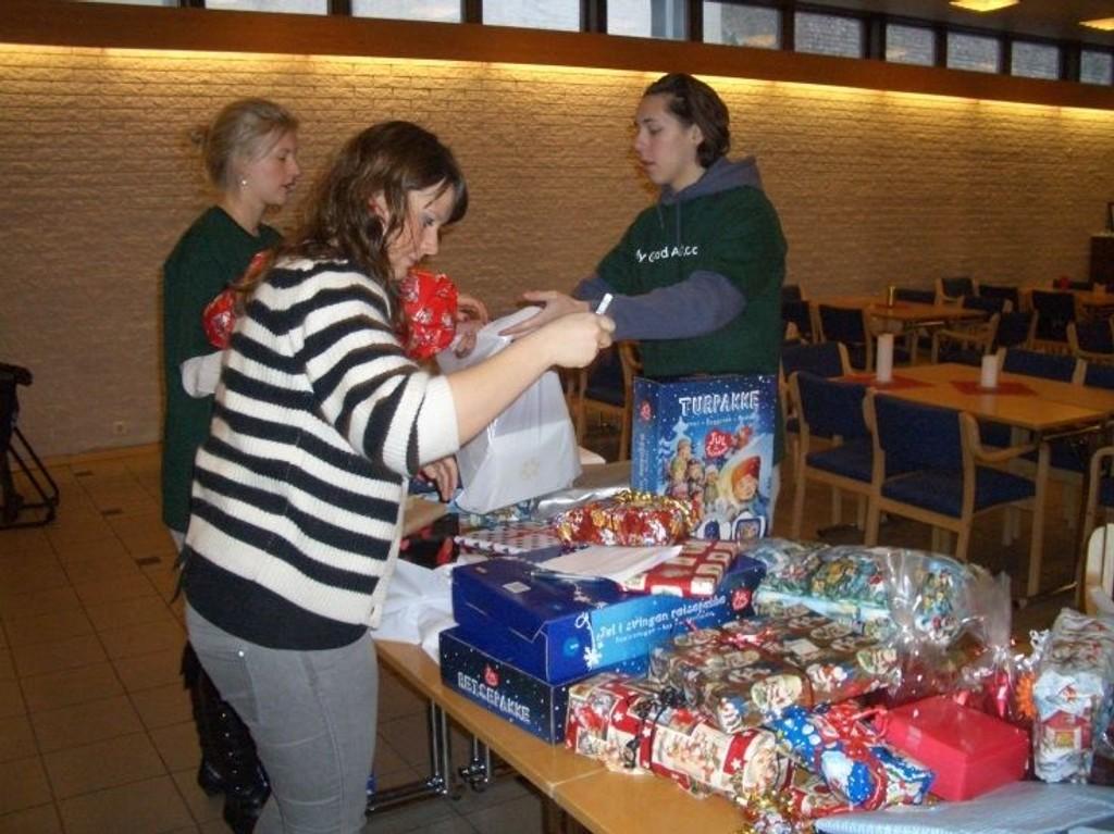 De frivillige i My GoodAct ordnet en verdig jul for de vanskeligstilte