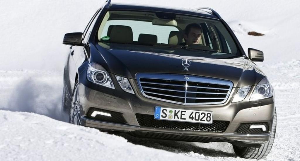 KJØREMASKIN: Nye E-klasse kjører bedre enn forgjengeren.