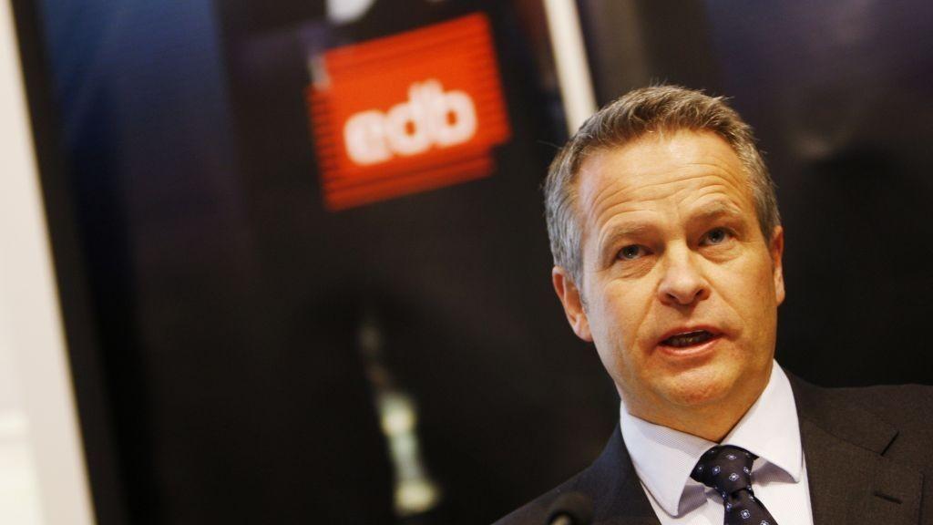 Endre Rangnes, konsernsjef EDB ASA