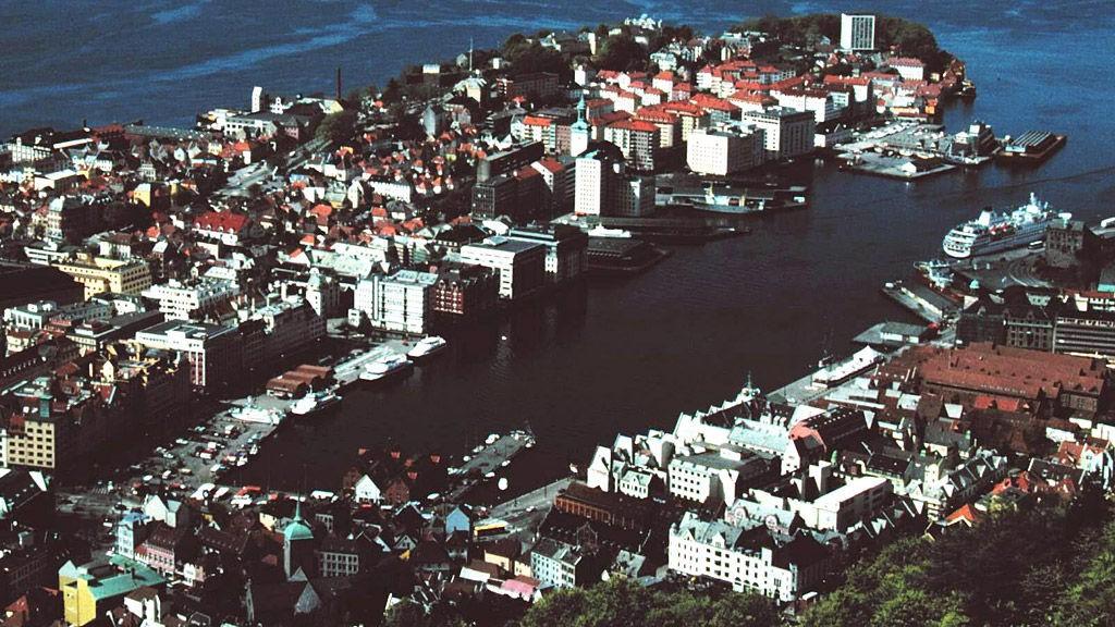UTSIKTEN FRA FLØIEN omkranser hele Bergen.