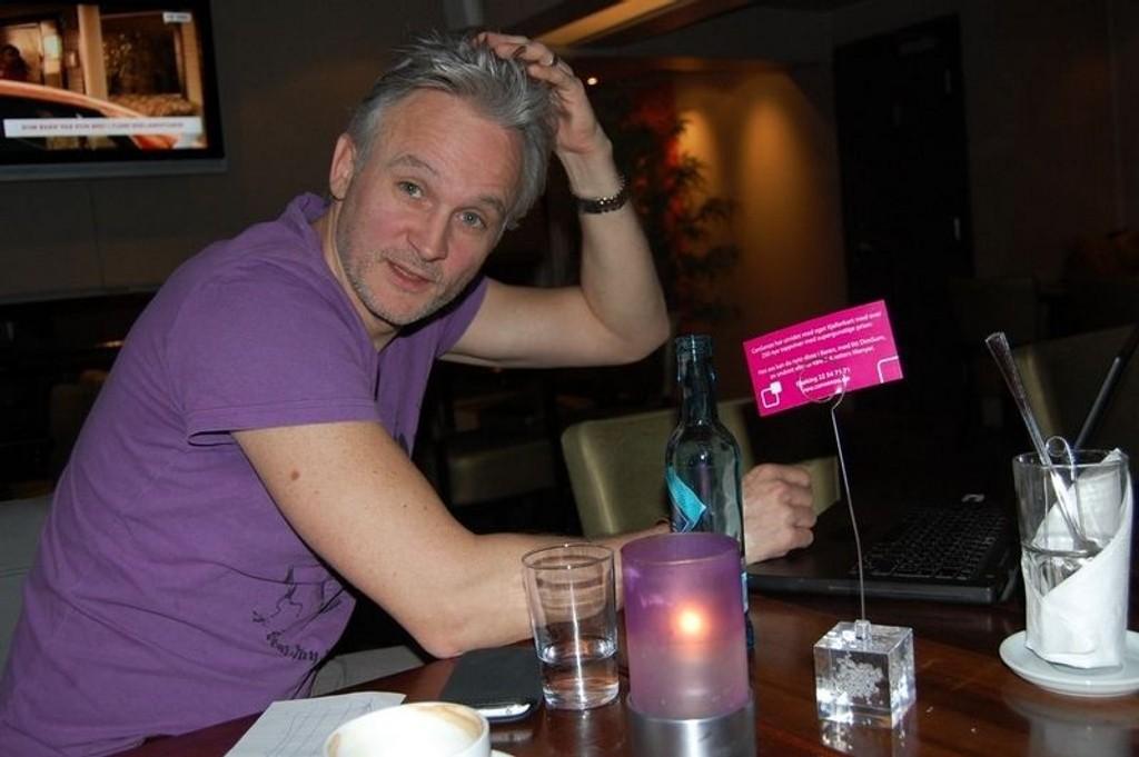 Jon Schau byr på egne spirituelle opplevelser i Jons bok. FOTO: ELLEN RØNNING