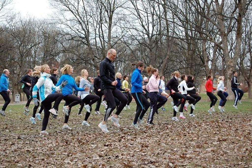 Alle vil starte med blanke ark og nye løfter om mye trening i januar. FOTO: Anita Bakk Henriksen