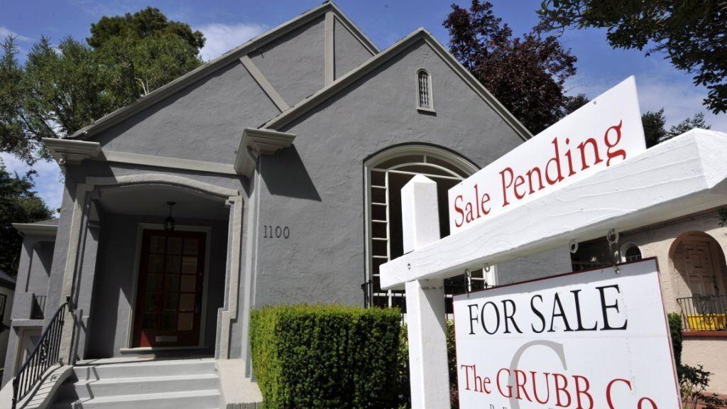Pending home sales, USA, Bruktboligsalg