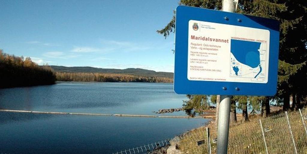 Nå, som i de siste tiårene, er det Maridalsvannet som stanser for avløpsutviklingen i Maridalen. Arkivfoto: Karl Andreas Kjelstrup