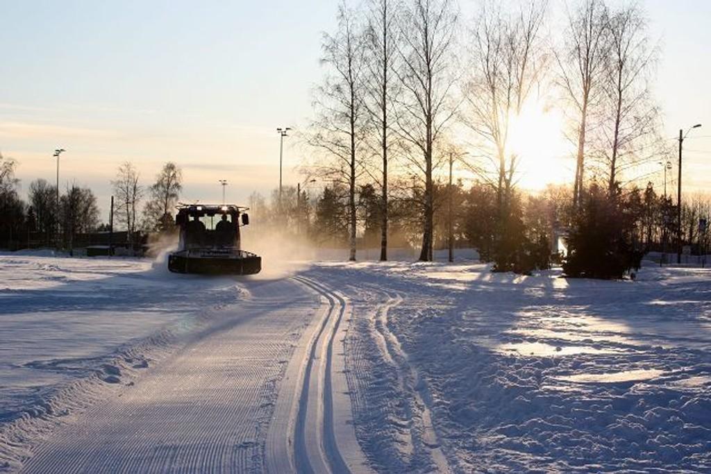 Onsdag ettermiddag hadde Friluftsetaten sin første sporleggingsdag på Ekeberg.