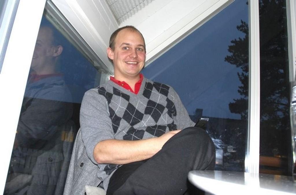 Lyns infosjef heter ikke lenger Joachim Westher Andersen. Etter seks år gir han seg. Foto: Fredrik Eckhoff