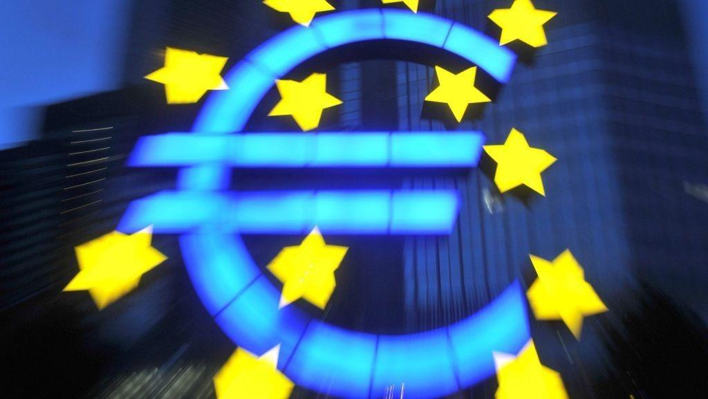 EU Eurosonen Eurolandene Euroområdet ECB ESB Euro