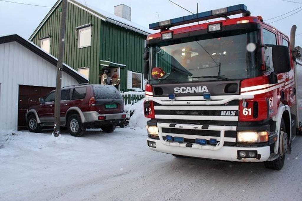 """Melding om pipebrann på Høyenhall torsdag morgen var heldigvis """"falsk"""". Men det blir nok flere."""