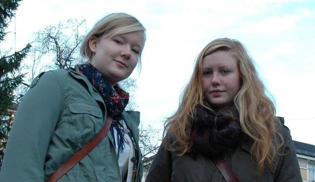 Kjelsås-jentene Tonje Vaksvik (19) og Ingrid Rønning Strand (19) i Nordre Aker Natur og Ungdom er ikke fornøyd med resultatene fra København.