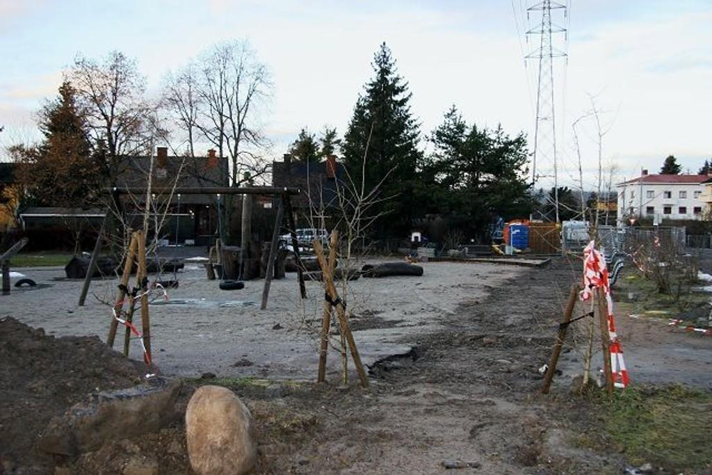Sverre Enevolds plass, her fra 2008. Arkivfoto